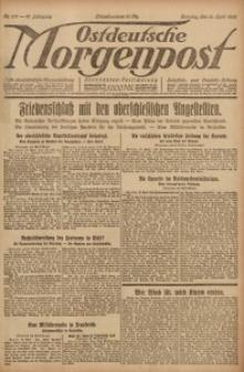 Ostdeutsche Morgenpost, 1920, Jg. 47, Nr. 107