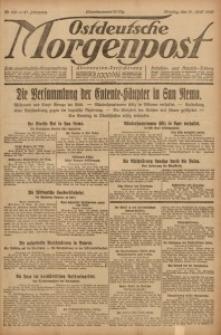 Ostdeutsche Morgenpost, 1920, Jg. 47, Nr. 108