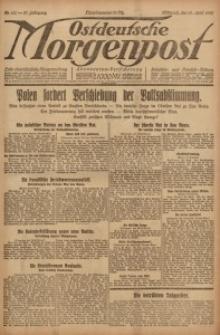 Ostdeutsche Morgenpost, 1920, Jg. 47, Nr. 110