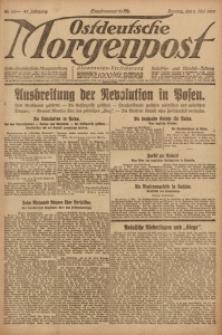 Ostdeutsche Morgenpost, 1920, Jg. 47, Nr. 121