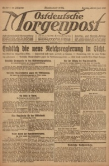 Ostdeutsche Morgenpost, 1920, Jg. 48, Nr. 168