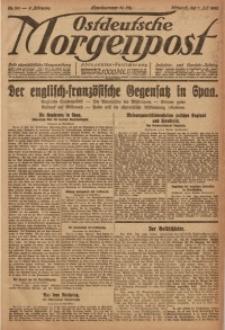 Ostdeutsche Morgenpost, 1920, Jg. 2, Nr. 185