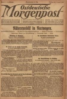 Ostdeutsche Morgenpost, 1920, Jg. 2, Nr. 215