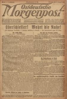 Ostdeutsche Morgenpost, 1920, Jg. 2, Nr. 226