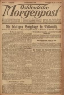 Ostdeutsche Morgenpost, 1920, Jg. 2, Nr. 228
