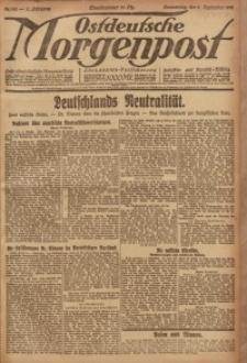 Ostdeutsche Morgenpost, 1920, Jg. 2, Nr. 242