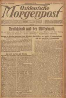 Ostdeutsche Morgenpost, 1920, Jg. 2, Nr. 252