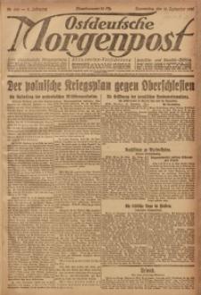 Ostdeutsche Morgenpost, 1920, Jg. 2, Nr. 256