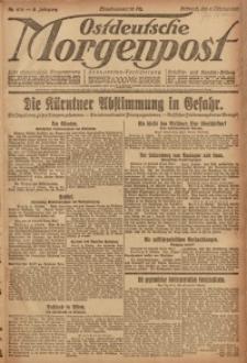 Ostdeutsche Morgenpost, 1920, Jg. 2, Nr. 274