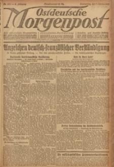 Ostdeutsche Morgenpost, 1920, Jg. 2, Nr. 275