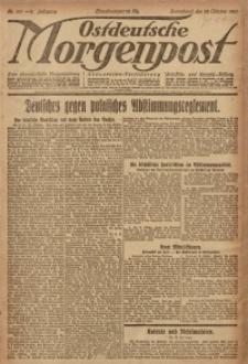 Ostdeutsche Morgenpost, 1920, Jg. 2, Nr. 291