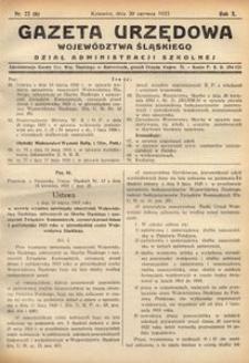 Dział Administracji Szkolnej, 1933, R. 10, nr 22 (6)
