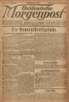Ostdeutsche Morgenpost, 1920, Jg. 2, Nr. 308