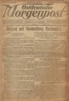 Ostdeutsche Morgenpost, 1920, Jg. 2, Nr. 326