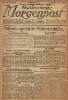 Ostdeutsche Morgenpost, 1920, Jg. 2, Nr. 327