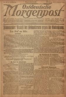 Ostdeutsche Morgenpost, 1920, Jg. 2, Nr. 330