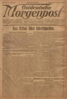 Ostdeutsche Morgenpost, 1920, Jg. 2, Nr. 358