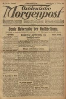 Ostdeutsche Morgenpost, 1921, Jg. 3, Nr. 272