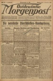 Ostdeutsche Morgenpost, 1921, Jg. 3, Nr. 284