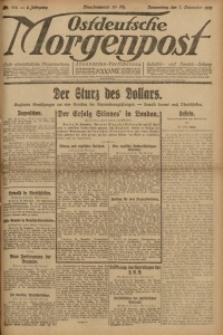 Ostdeutsche Morgenpost, 1921, Jg. 3, Nr. 314