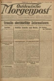 Ostdeutsche Morgenpost, 1921, Jg. 3, Nr. 317