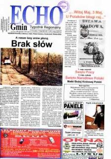 Echo Gmin : tygodnik regionalny 2003, nr 17 (293).