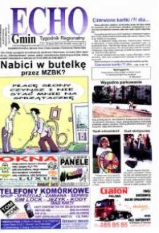 Echo Gmin : tygodnik regionalny. 2003, nr 29 (305).
