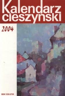 Kalendarz Cieszyński, 2004