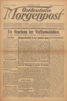 Ostdeutsche Morgenpost, 1922, Jg. 4, Nr. 171