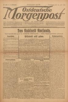 Ostdeutsche Morgenpost, 1922, Jg. 4, Nr. 198