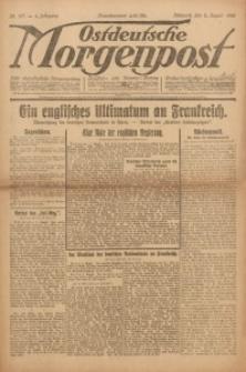 Ostdeutsche Morgenpost, 1922, Jg. 4, Nr. 211