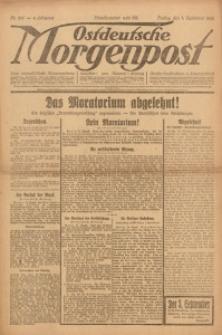Ostdeutsche Morgenpost, 1922, Jg. 4, Nr. 241