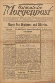 Ostdeutsche Morgenpost, 1922, Jg. 4, Nr. 263