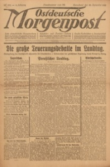 Ostdeutsche Morgenpost, 1922, Jg. 4, Nr. 270