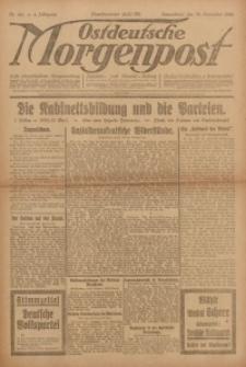 Ostdeutsche Morgenpost, 1922, Jg. 4, Nr. 319