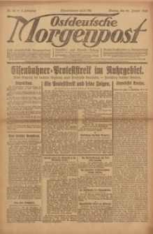 Ostdeutsche Morgenpost, 1923, Jg. 5, Nr. 21