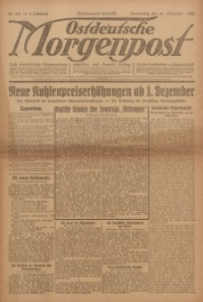 Ostdeutsche Morgenpost, 1922, Jg. 4, Nr. 331