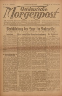 Ostdeutsche Morgenpost, 1923, Jg. 5, Nr. 23