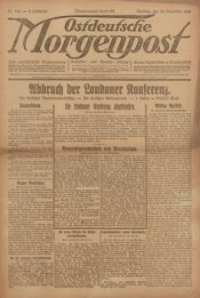Ostdeutsche Morgenpost, 1922, Jg. 4, Nr. 343