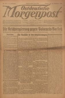 Ostdeutsche Morgenpost, 1922, Jg. 4, Nr. 358