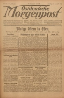 Ostdeutsche Morgenpost, 1923, Jg. 5, Nr. 90