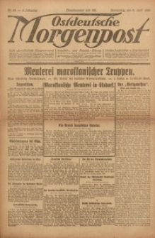 Ostdeutsche Morgenpost, 1923, Jg. 5, Nr. 93