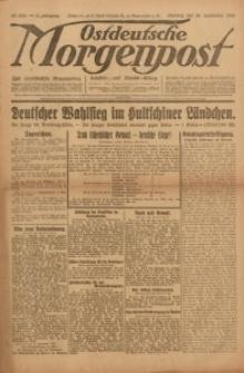 Ostdeutsche Morgenpost, 1923, Jg. 5, Nr. 258