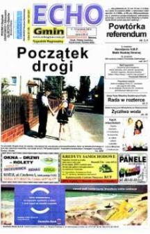 Echo Gmin : tygodnik regionalny 2001, nr 35 (208).