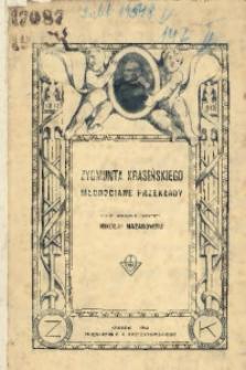 Zygmunta Krasińskiego młodociane przekłady
