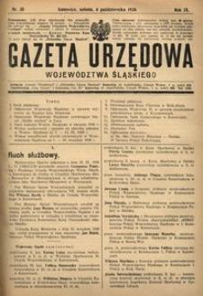 Gazeta Urzędowa Województwa Śląskiego, 1930, R. 9, nr 35