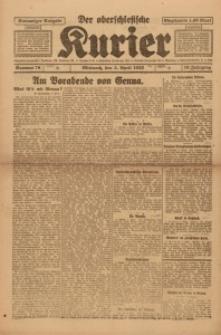 Der Oberschlesische Kurier, 1922, Jg. 16, Nr. 78