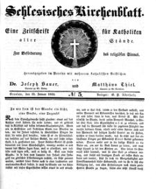 Schlesisches Kirchenblatt, 1835, Jg. 1, nr 5