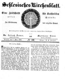Schlesisches Kirchenblatt, 1835, Jg. 1, nr 10