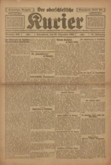 Der Oberschlesische Kurier, 1922, Jg. 16, Nr. 299